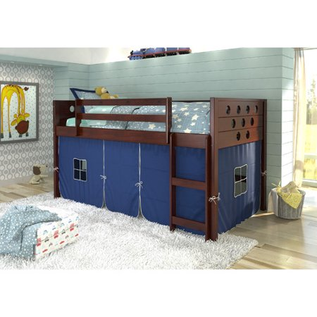 Donco Kids Circles Twin Loft Bed - Walmart.c