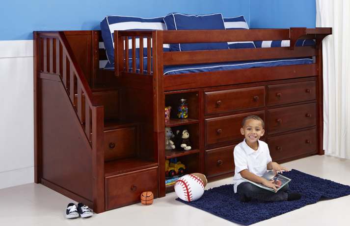 Safe Loft Beds for Kids - The Bedroom Sour