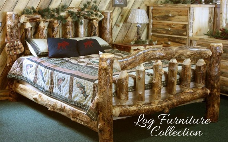 Amish Log Furniture Collecti