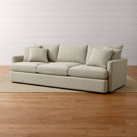 """Lounge II 3-Seat 105"""" Grande Sofa + Reviews 