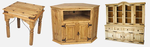Rustic Mexican Pine Furniture Collecti
