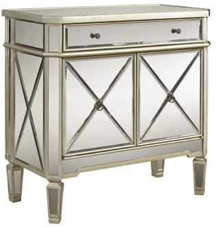 Amazon.com: Mirrored Mirror Furniture Dresser Buffet Cabinet Chest .