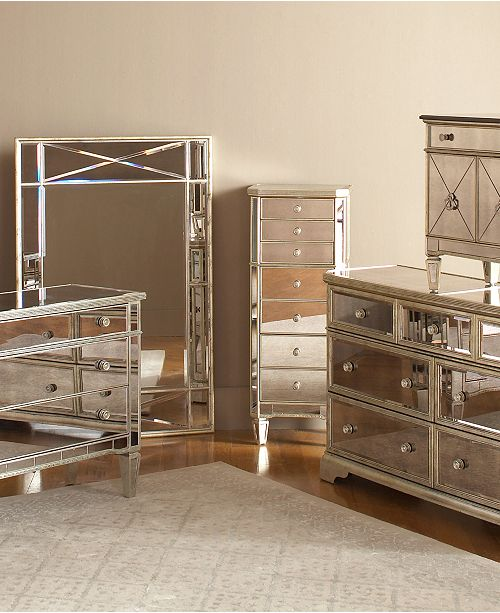 Furniture Marais Mirrored Furniture Collection & Reviews .