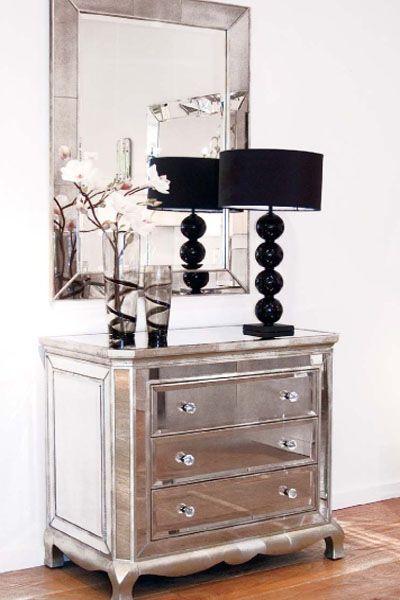 Antique Mirror Furniture Blog | Mirrored furniture, Home decor, Dec