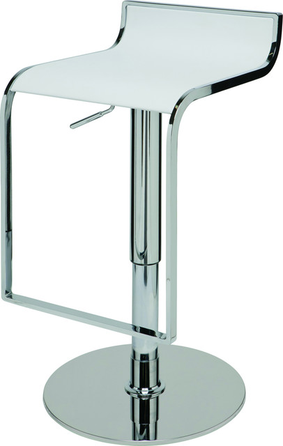 Alexander Adjustable Bar Stool, Modern Contemporary Counter Stool .
