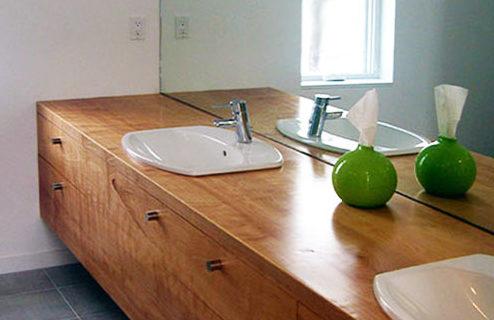 Affordable Modern Bathroom Design - LEAP Architectu