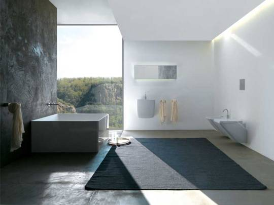 Minimalistic And Cozy Modern Bathroom Designs From Colacr