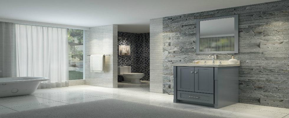 Unconventional Modern Bathroom Vanit