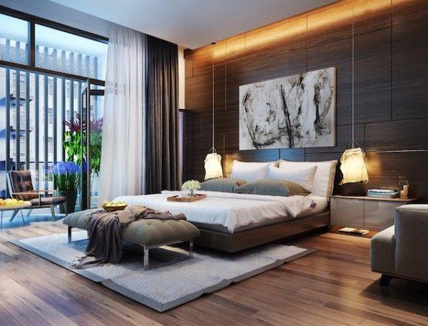 Bedroom Lighting Ideas – Contemporary Mood | Modern bedroom, Home .