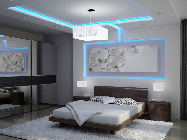 30 Glowing Ceiling Designs with Hidden LED Lighting Fixtures .