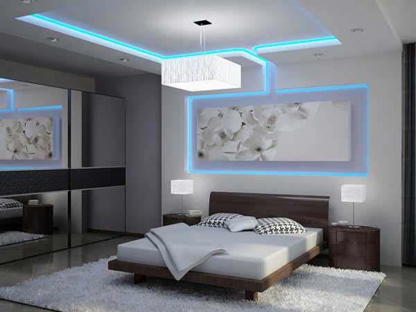 20 Fascinating Examples Of Modern Bedroom Lighting Ide