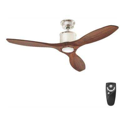 Large Room - 4 & Up - Nickel - Mid-Century Modern - Ceiling Fans .