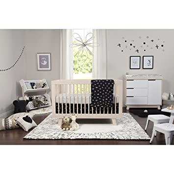 Amazon.com : Babyletto 5-Piece Nursery Crib Bedding Set, Fitted .