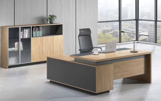 China CEO Luxury Modern Design Executive Office Desk, Commercial .