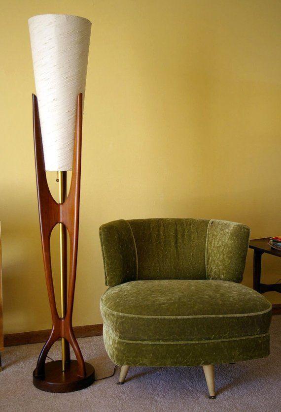 mid century floor lamp | Mid century floor lamps, Mid century .