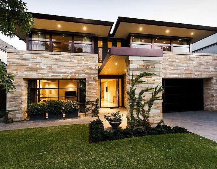 14 Awesome Contemporary Home Exterior Design Ideas - decorolo