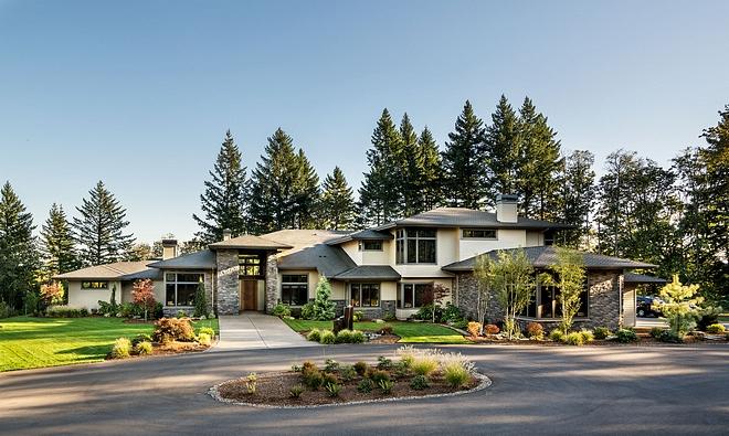 New Century Modern Home Design - Home Bunch Interior Design Ide
