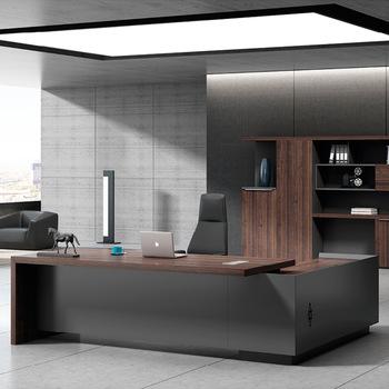 Ekintop modern office furniture desk high tech executive l shaped .