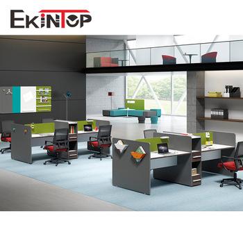 Modern office furniture modular partition cubicle workstation .
