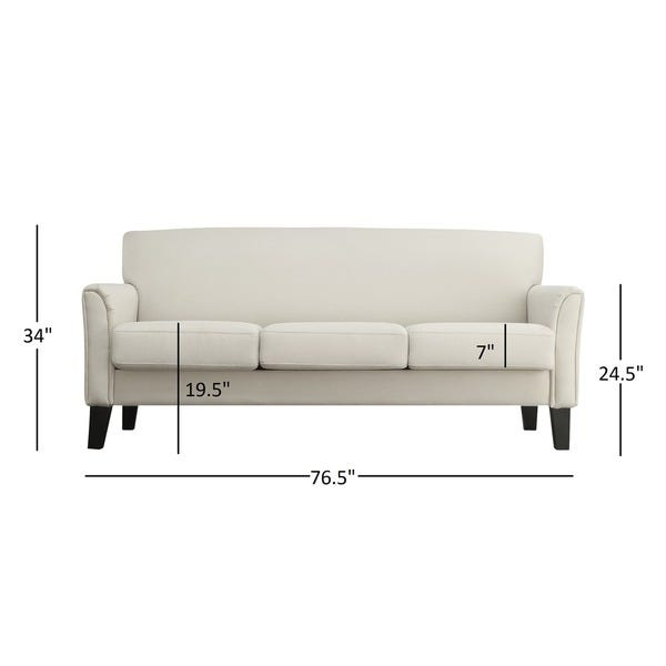 Shop Uptown Modern Sofa by iNSPIRE Q Classic - Overstock - 39119