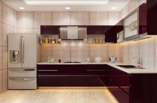 Wooden L Shape Royal Modular Kitchen, Warranty: 1-5 Years, Rs 1650 .