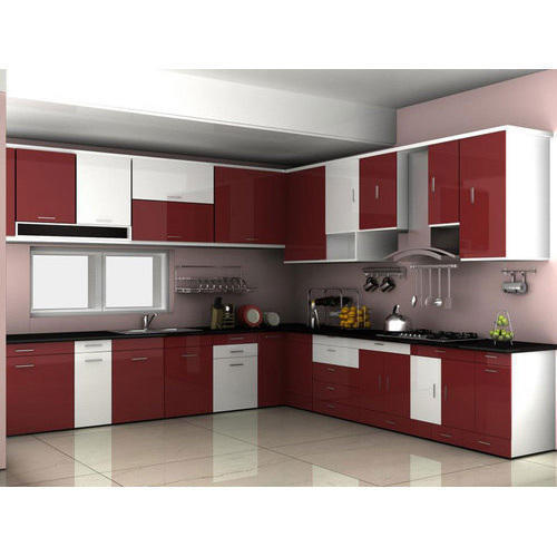 FRP Home Modular Kitchen, Rs 75000 /piece, The Beauty Kitchen | ID .