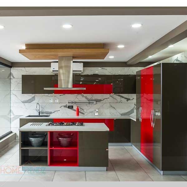 Modular Kitchen - Acrylic : HOME Trendz, Modular Kitchen | Kochi .