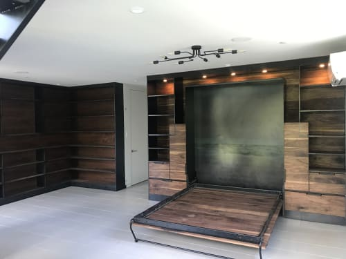 Custom Murphy Bed by Brian Chilton Design seen at Client Residence .