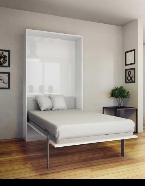 Hover: Twin Vertical Murphy Bed | Expand Furniture - Folding .