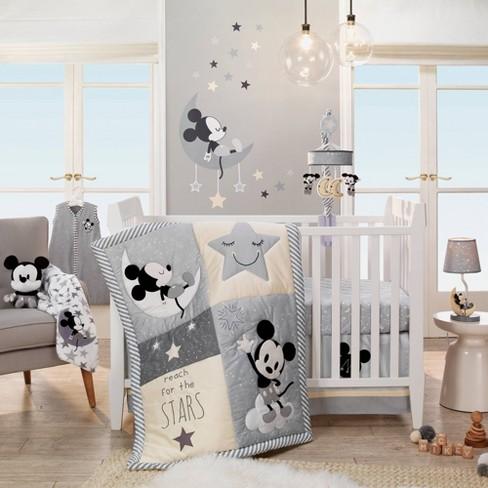 Lambs & Ivy Disney Baby Nursery Crib Bedding Set - Mickey Mouse .