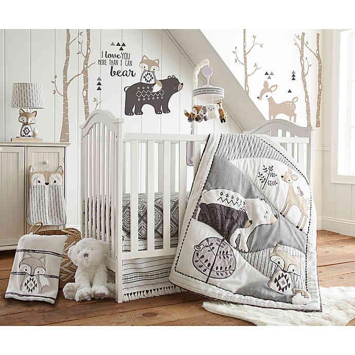 Levtex Baby® Bailey 5-Piece Crib Bedding Set | Bed Bath & Beyo