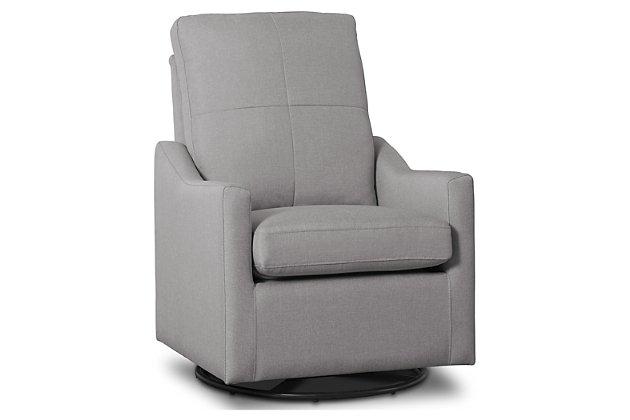 Delta Children Kenwood Slim Nursery Glider Swivel Rocker Chair .