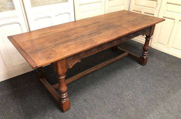 Antique Oak Dining Table for sale at Pamo