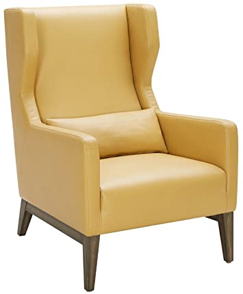 "Amazon.com: Sunpan 5West Occasional Chairs, 36"" x 29.5"", Mustard ."