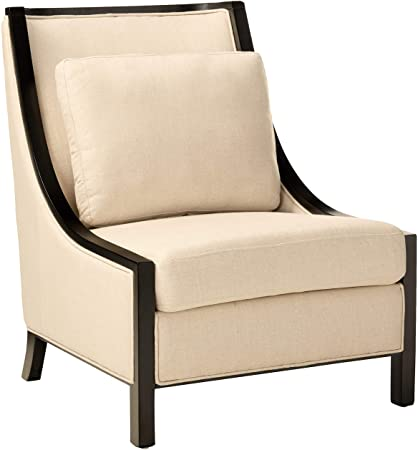 "Amazon.com: Sunpan 5West Occasional Chairs, 37"" x 30.5"", Linen ."
