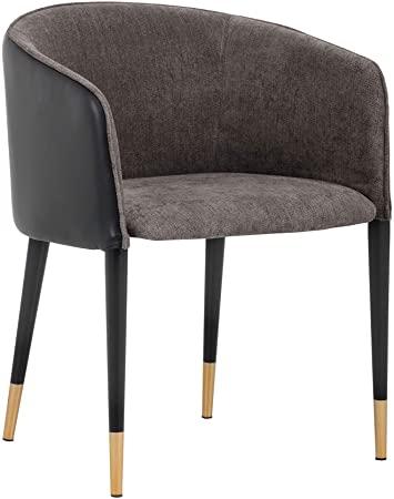 Amazon.com: Sunpan Ikon Occasional Chairs, Grey: Kitchen & Dini