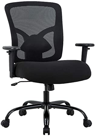 Amazon.com: Big and Tall Office Chair 400lbs Desk Chair Mesh .