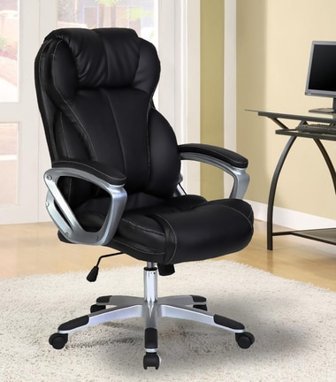 Executive PU Leather Office Chair - 2xhome - Modern and .