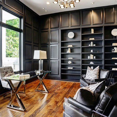Top 70 Best Modern Home Office Design Ideas - Contemporary Working .