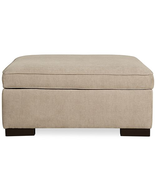 Furniture Radley Fabric Storage Ottoman, Created for Macy's .