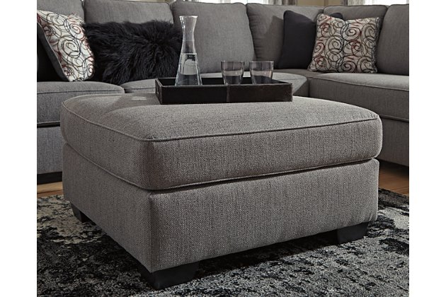 Larusi Oversized Ottoman | Ashley Furniture HomeSto