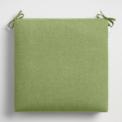 Sunbrella Moss Green Cast Outdoor Chair Cushion | World Mark