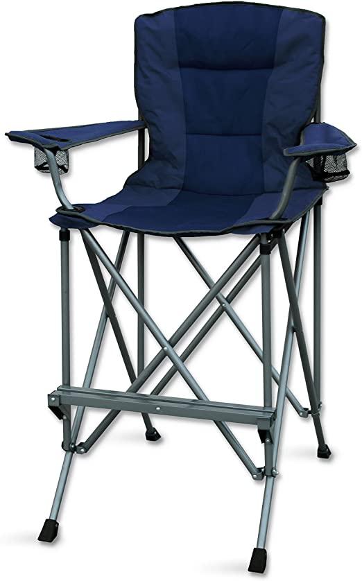 Amazon.com: RMS Outdoors Extra Tall Folding Chair - Bar Height .