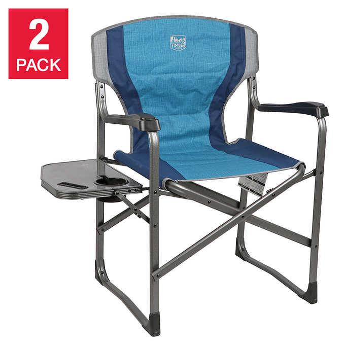 Timber Ridge Folding Director's Chair, 2-pa