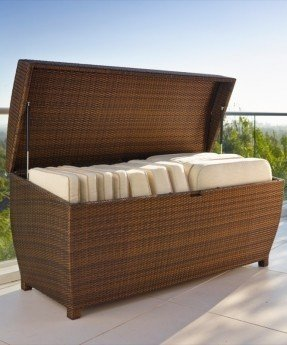 Outdoor Furniture Cushion Storage - Ideas on Fot
