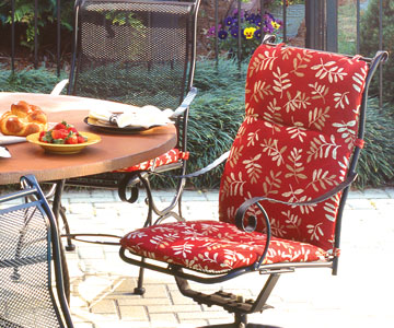 Outdoor Patio Furniture Cushions - Benches & Chai