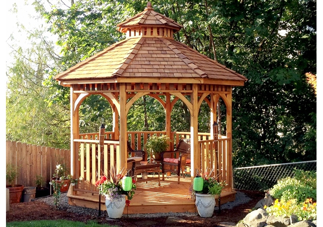 Outdoor Gazebo | 10' Bayside Panelized - Outdoor Living Tod