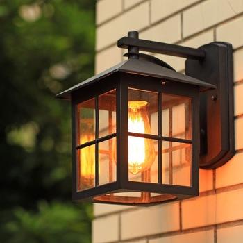 Stl Wall Lamp American Country Style Simple Modern Waterproof .
