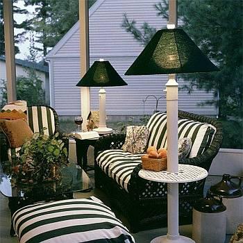Outdoor Patio Lamp | Floor & Table Waterpro