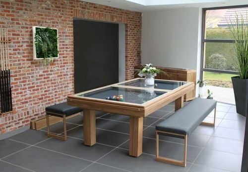 YES. convertible pool table for outdoor use TECK Toulet | Outdoor .